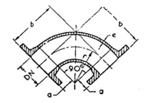 CI Double Flanged ¼ Bends (Manufacture from 80mm dia to 1500 mm dia)